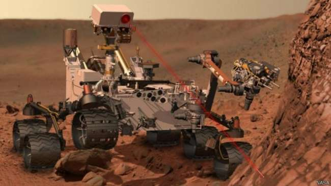 Mars\'taki esrarengiz dağın sırrı çözüldü