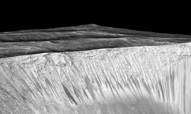 Mars'ta yıllardır aranan suyu kum fırtınaları yok etmiş olabilir